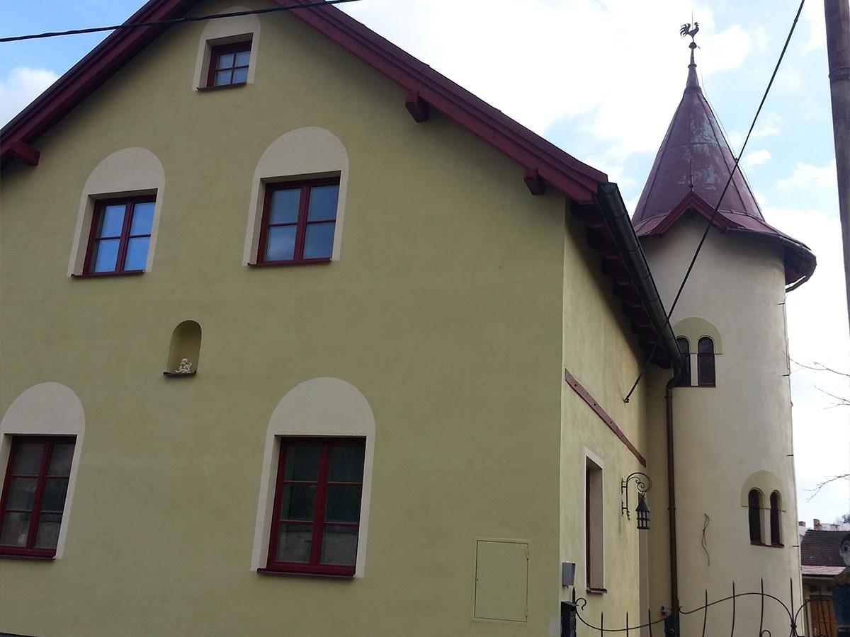 Dům s věžičkou - Terapie tmou u Štědřicha