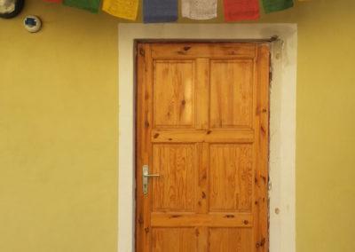 Poustevna - vchod