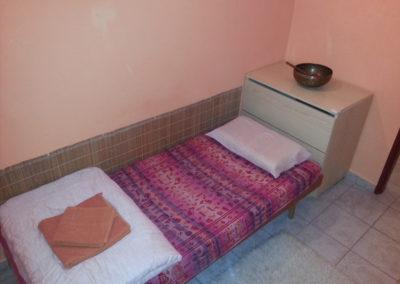 Poustevna - postel